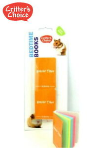 NEW-CRITTERS-CHOICE-BEDTIME-BOOKS-SMALL-ANIMAL-EDIBLE-GNAW-CHEW-2-PIECE-31025