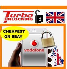 VODAFONE UK UNLOCKING SERVICE IPHONE  6 6 PLUS 6S NO SIM REQUIRED UK