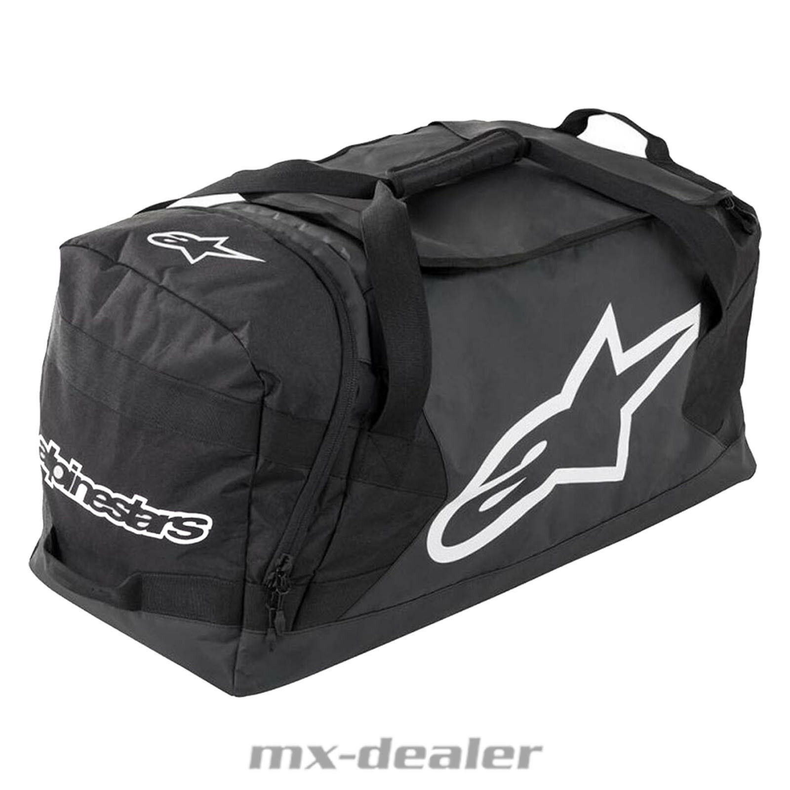 Nuovo 2019 Goanna Borsa Viaggio Gear Nero da 125 Litro Mx Motocross