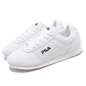 Details about Fila 1J903S113 White Navy Red Men Running Casual Vintage  Classic Shoes Sneakers