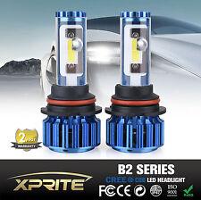 Xprite B2 Series H4 CREE COB LED Headlight Conversion Kit 120W 6k 8k