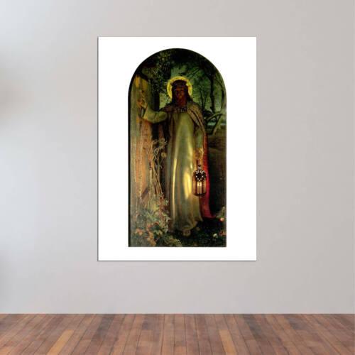 William Holman Hunt The Light of the World Wall Art Poster Print