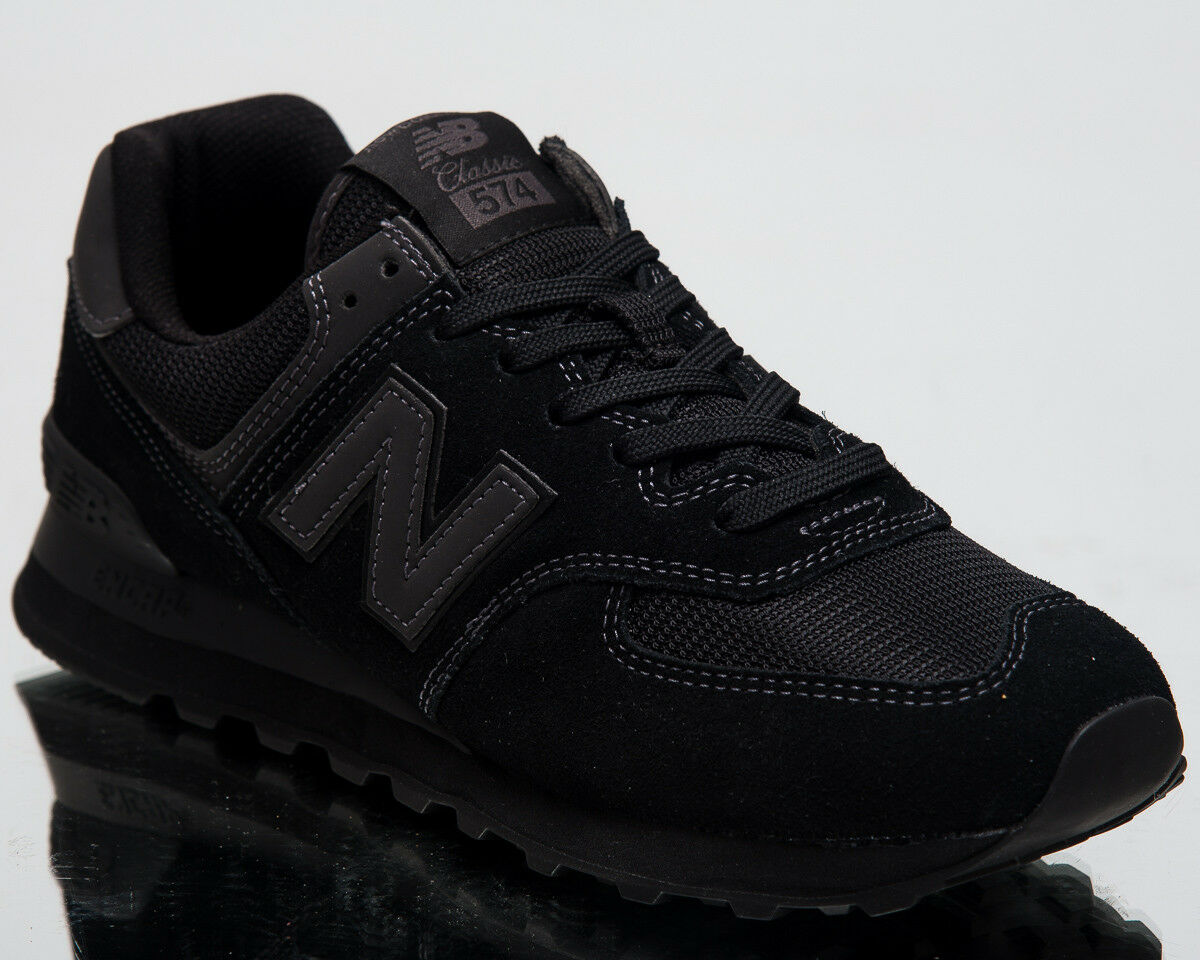 New Balance 574 New Men Lifestyle shoes Black Low Top 2018 Sneakers ML574-ETE
