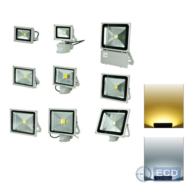 Foco proyector LED lámpara exterior faro iluminación 10W-100W luz fría cálida