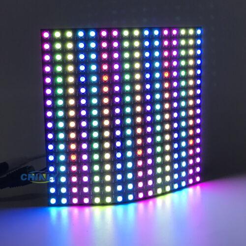 WS2812B LED Pixel Strip Light Advertising Display Panel Digital Flexible Screen