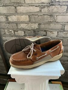 New-Sperry-Men-039-s-Intrepid-2-Eye-Leather-Top-Sider-Boat-Shoes-Casual-Pick-Size