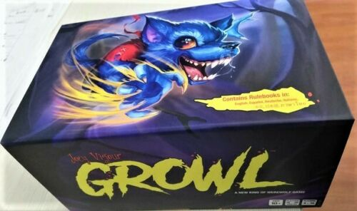 GROWL Game HOWLY GROWLY KICKSTARTER EXCLUSIVE ED.+ALL 4 EXPANSIONS NEW Werewolf