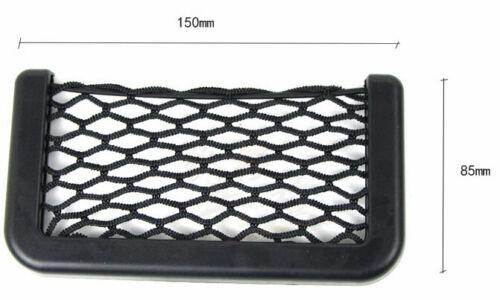 Car Suv Resilient String Storage Mesh Nets Bag Phone GPS Holder Pocket Organizer