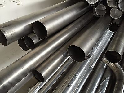 2.5 inch OD 304 SS tube Exhaust 63mm x 1.5mm thick 2 Meters