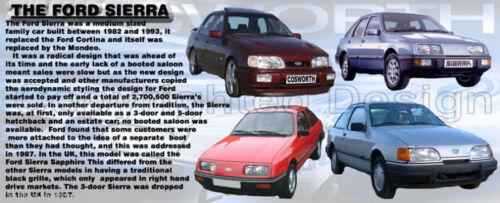 FORD SIERRA CLASSIC CAR MUG LIMITED EDITION SAPHIRE NEW