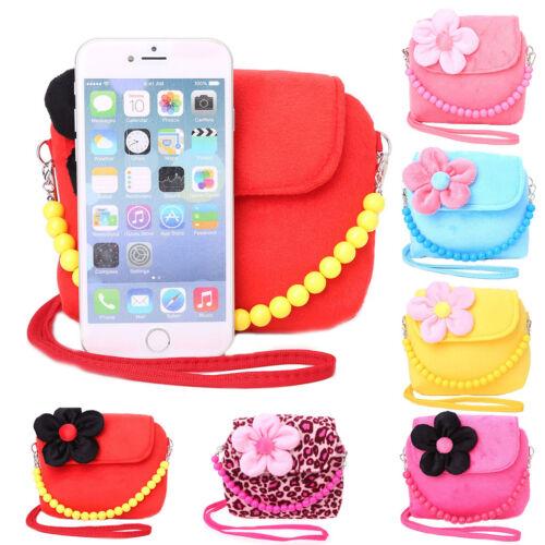 Shoulder Bag Kids Children Girls Princess Flower Messenger Handbag Lovely Purses