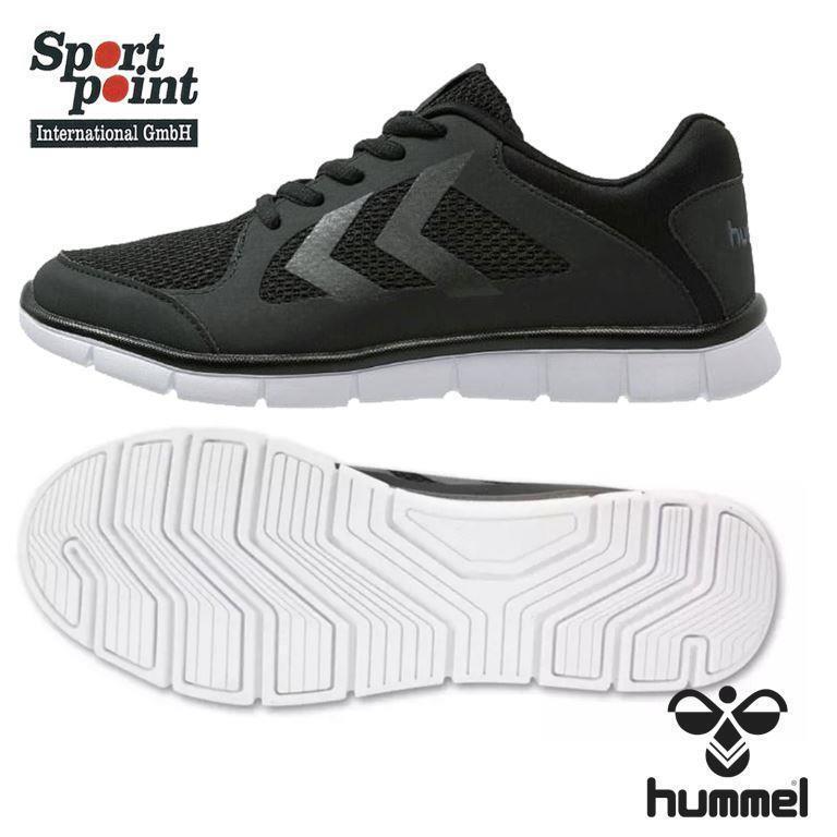 Hummel Effectus Coupe Style de Vie Sportif & Chaussure de Loisir Noir 38 Unisexe