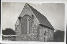 Coggeshall, Essex - Old Abbey Church - real photo postcard c.1930s
