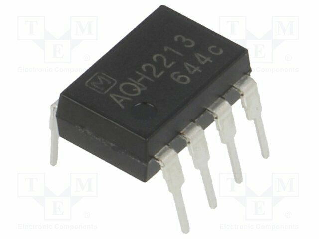 Relay: Semiconductor 900mA Usteuer:6VDC Lsteuer:50mA max.600VAC AQH2213 Ssr Ein