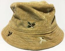 Polo Ralph Lauren Corduroy Bucket Hat DUCK CAMO VTG MEN SZ  S / M