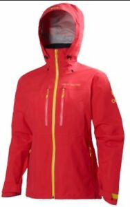 Jacket Size Waterproof Helly W Ladies Odin Hansen Xl Coral Traverse Womens 1wCYcC7RUq