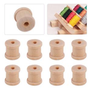 50pcs-Natural-Color-Wooden-Empty-Thread-Reel-Spools-Bobbin-Sewing-Tools11x12mm