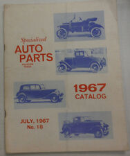 Specialized Auto Parts Magazine Houston Texas July 1967 020915R