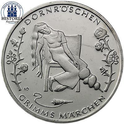 Deutschland 10 Euro 2015 bfr. Grimms Märchen: Dornröschen