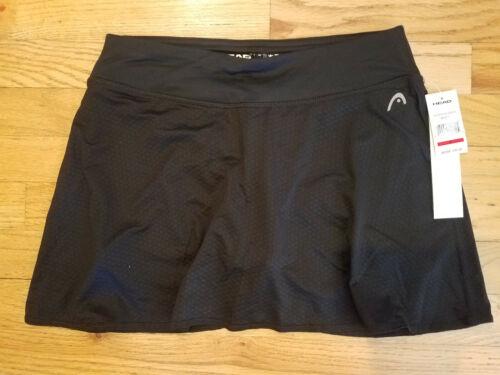 Dri-Motion S Small Slim Fit NEW NWT HEAD Women/'s Tennis Skirt Skort Black