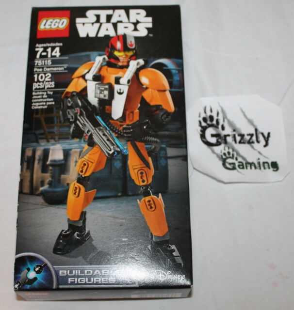 LEGO Star Wars 75115 Poe Dameron Buildable Figure Complete Minifig Baukästen & Konstruktion LEGO Baukästen & Sets