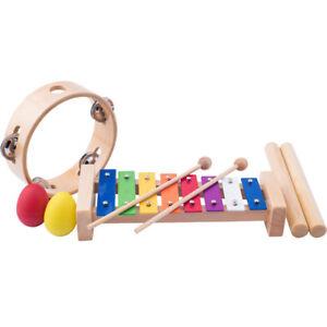 Blasinstrumente MUNDHARMONIKA HOLZ KINDER Musikinstrument Blasinstrument Holzspielzeug  # 90710