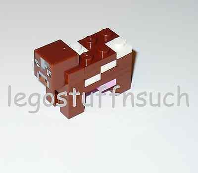 NEW LEGO® MINECRAFT Castle minifigure White SHEEP pet mob figure farm wool 21114