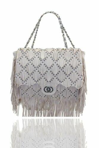 Ladies Women/'s Tassel Style Details Messenger Hand BagTote Shoulder Details Fash