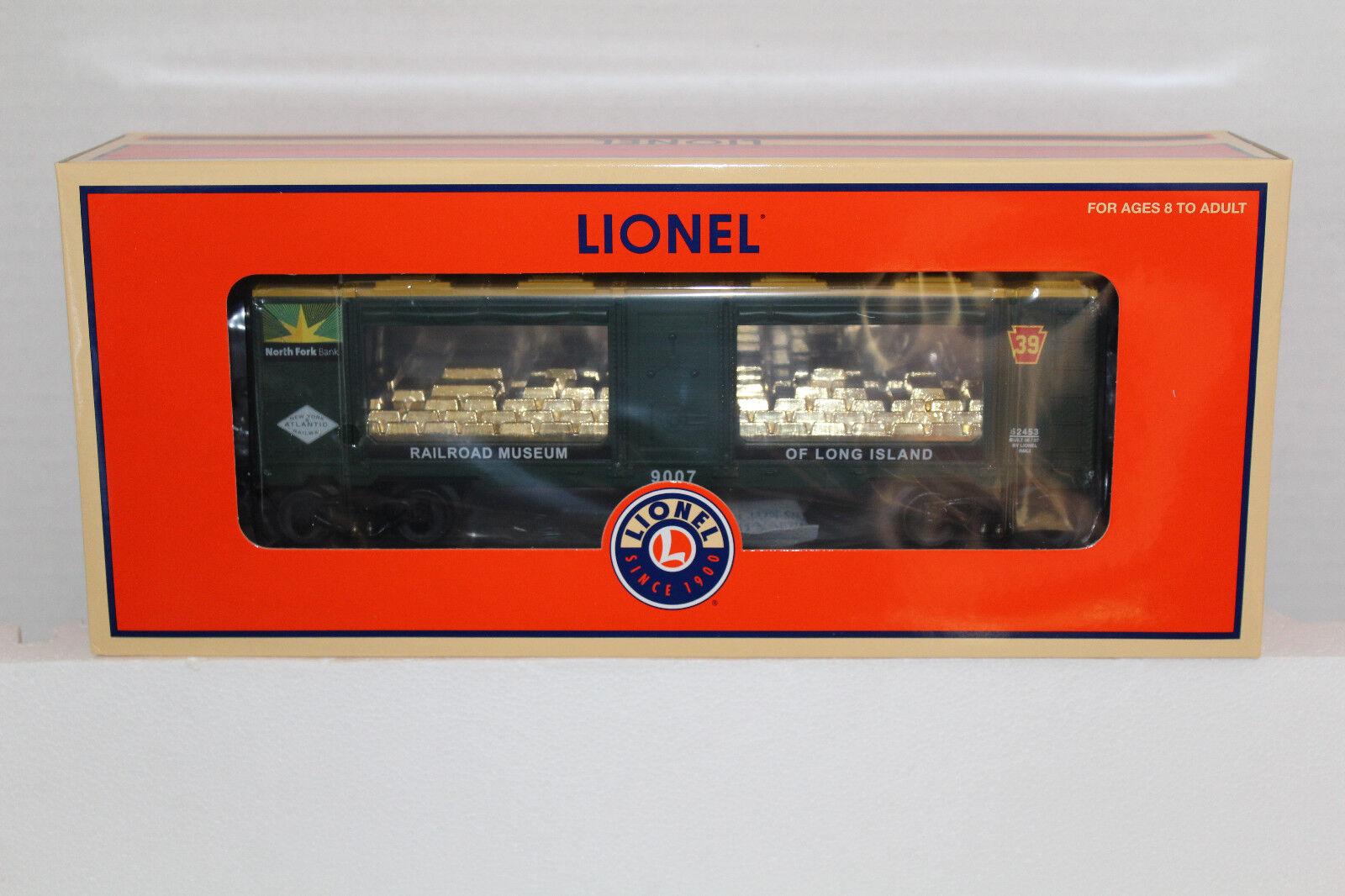 Lionel  52453 railroad museum of long island north folk bank mint car