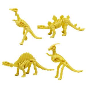 DIY plastic simulation skeleton puzzle dinosaur toy kids educational toy gift P0