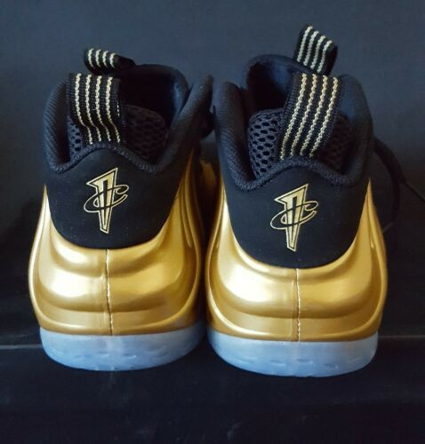 Ds One 10 Nike Black Size Foamposite Metallic 700 Rare 314996 Gold Air qTE7v