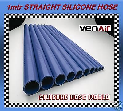 "90mm 3 1//2/"" I.D x 500mm BLUE Straight Silicone Hose Venair Silicon Radiator Pipe"