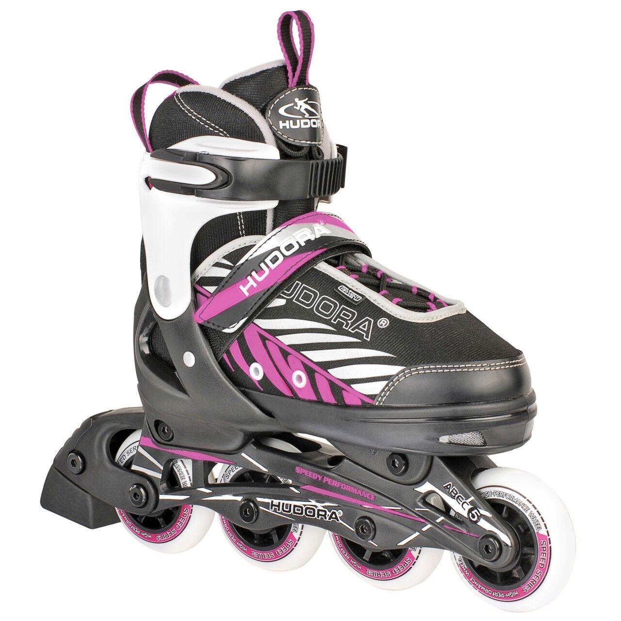 Hudora Kinderinliner Inliner Skater Mia, ABEC 5, Gr. 37-40, verstellbar