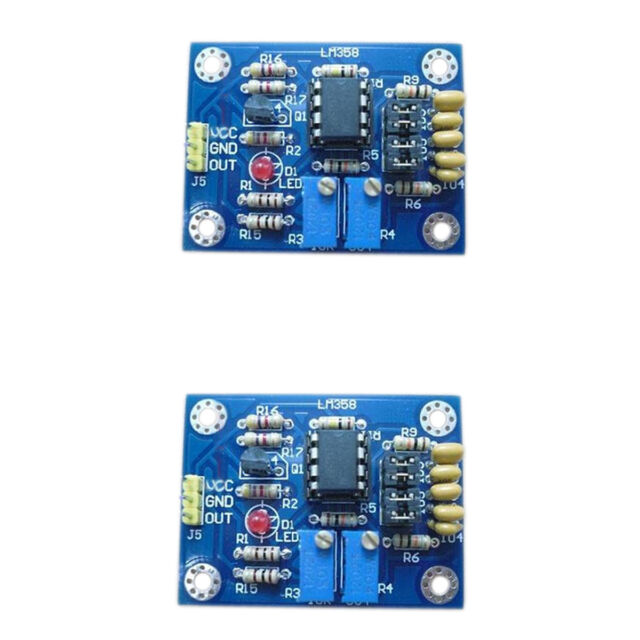 2Pcs LM358 Duty Cycle Frequency Adjustable Module Square Wave Generator