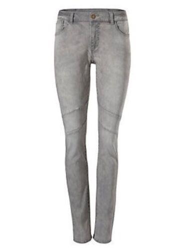 Femmes Boyfriend Jeans Pantalon carotte chino stretch gris denim 135163 B.C