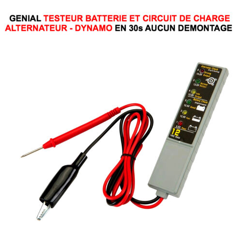DIAGNOSTIC BATTERIE ALTERNATEUR EN 1MN! PROMO TESTEUR BATTERIE ALTERNATEUR