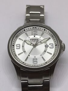 Fossil-Watch-Jewelry-Men-s-Bracelet-No-Movement-Doesn-t-Work-Band-FS5045-P393