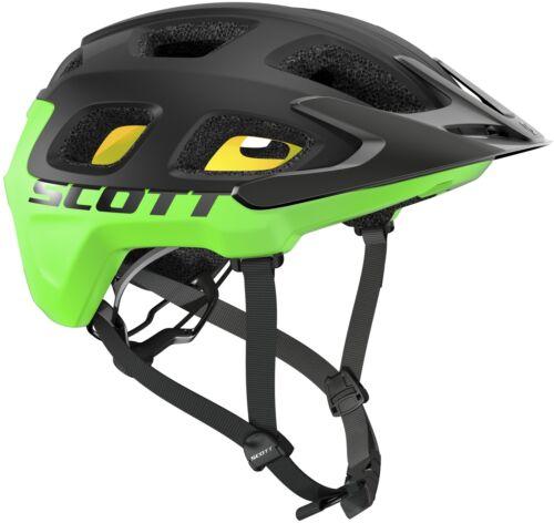 Black//Green Scott Vivo Plus MTB Cycling Helmet