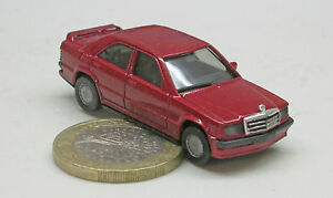 Herpa-Mercedes-Benz-190-E-2-5-16-Avantgarde-RED-MET