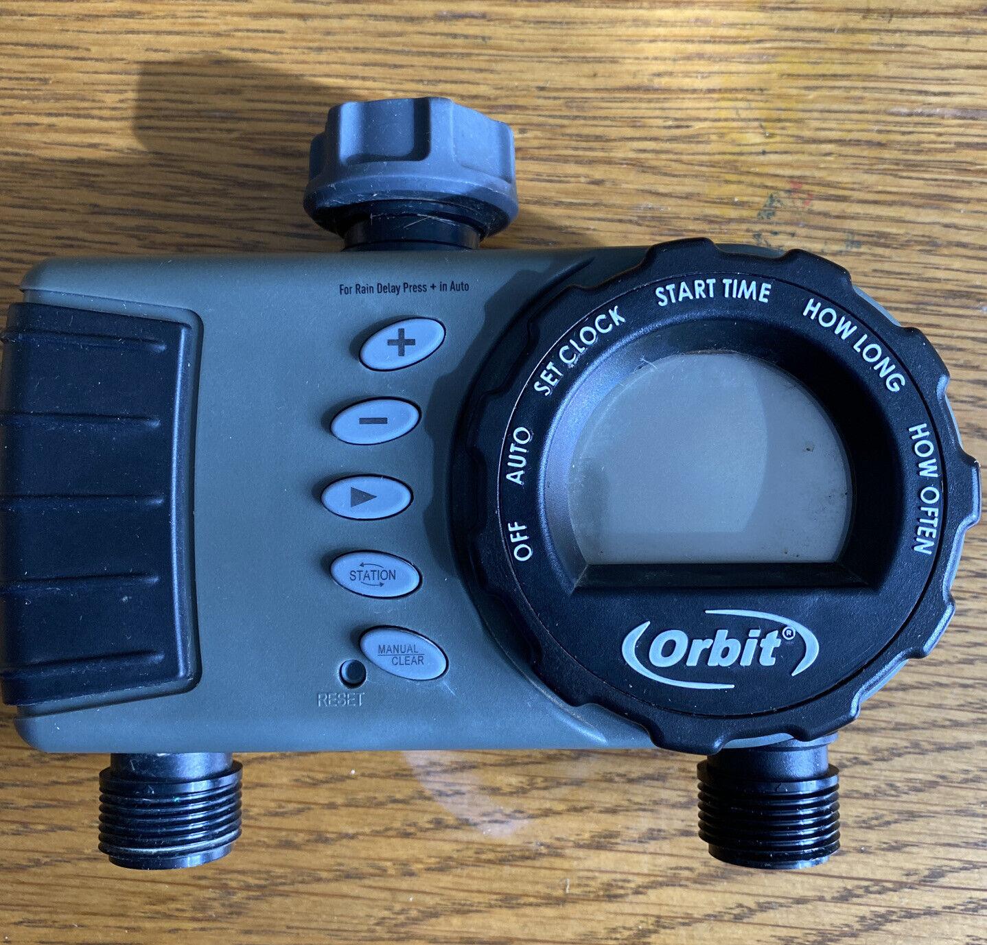 Orbit 2 Outlet Tap Timer