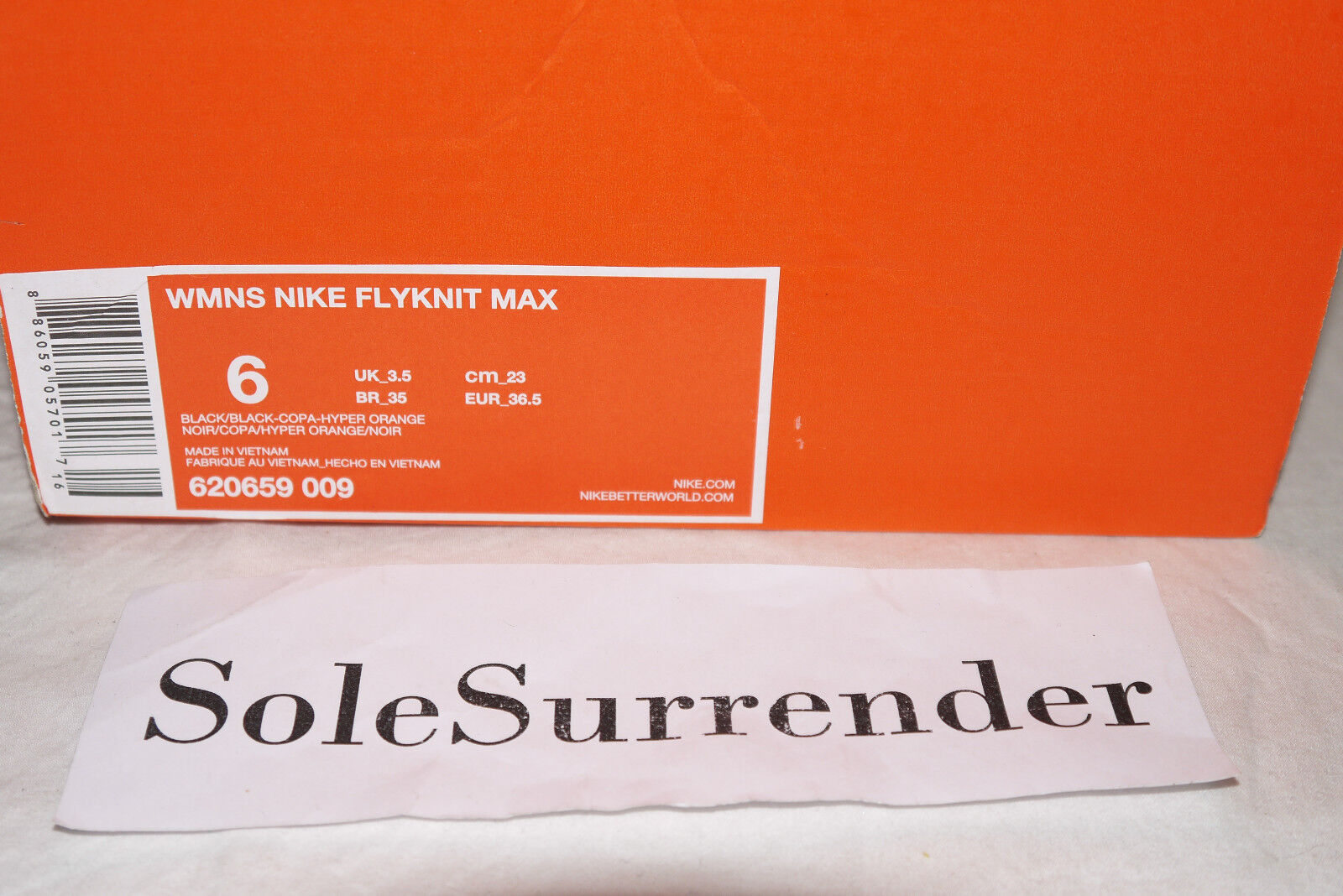 on sale d70bf f83a6 ... Women s Nike Flyknit Max Max Max - CHOOSE SIZE - 620659-009 Black Pink  Purple