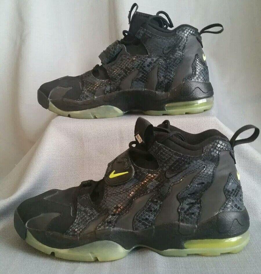 Snakeskin Nike Air DT Max 96 Deion Sanders black shoes RARE deadstock 2013