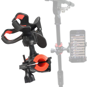 Universal-Microphone-Mic-Stand-Cell-Mobile-Phone-Mount-Holder-360deg-Rotation