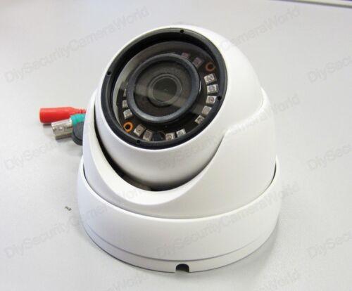 Fixed 2.8mm IP66 18xIR LED @ 65ft 8PCS 1080p HD-TVI 2.4MP Small Eyeball Dome