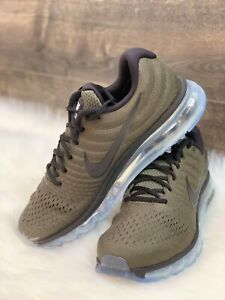Details about NIKE AIR MAX 2017 MEN'S RUNNING SHOE 849559 302 Olive Green Cargo Khaki Sz 10.5