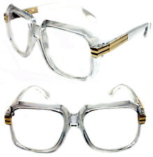 2763fdd60799 item 4 Men s Hip Hop 80 s Vintage 607 Clear Lens Eye Glasses RUN DMC Clear  Gold Frame -Men s Hip Hop 80 s Vintage 607 Clear Lens Eye Glasses RUN DMC  Clear ...