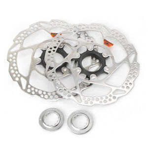 1-Pair-Shimano-Deore-SLX-SM-RT54-S-160mm-Disc-Brake-Rotor-Centerlock-Brake-Set