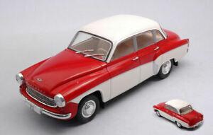 Model Car Scale 1:24 Wartburg 312 diecast vehicles collection vintage