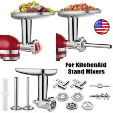 KitchenAid KSMMGA Metal Food Grinder Attachment - Silver