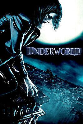 """Underworld Awakening Movie Silk Poster 11/""""x17/"""" 24/""""x36/"""" Kate Beckinsale"""